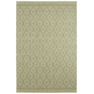 Palais Beige By Under The Canopy 8 ft. x 10 ft. Area Rug