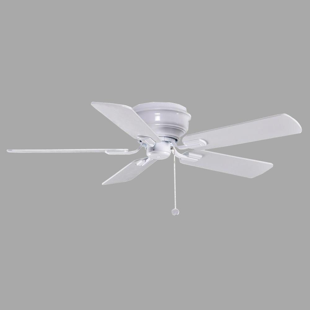White Hampton Bay Ceiling Fan - Photos House Interior and Fan ...