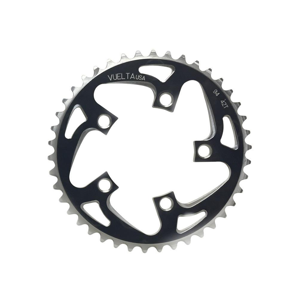 Vuelta SE Flat 110mm//BCD 58T Chain Ring Black