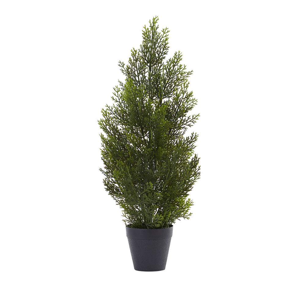 Nearly Natural Indoor and Outdoor 2 ft. Mini Cedar Pine Tree Nearly Natural Indoor and Outdoor 2 ft. Mini Cedar Pine Tree