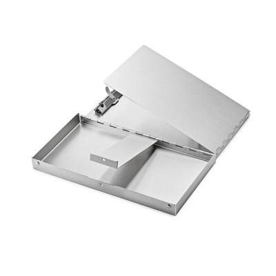 6 in. x 10 in. Aluminum Snap Down Form Holder Clipboard
