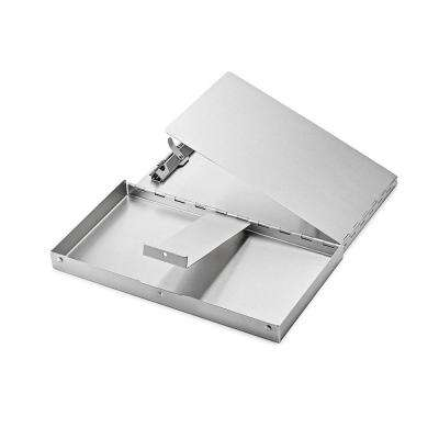 6 in. x 10 in. Aluminum Snapak Form Holder Clipboard