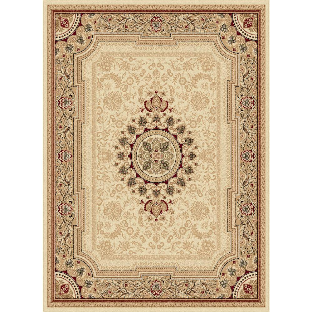 tayse rugs sensation beige 10 ft 6 in x 14 ft 6 in traditional area rug sns4672 11x15 the. Black Bedroom Furniture Sets. Home Design Ideas