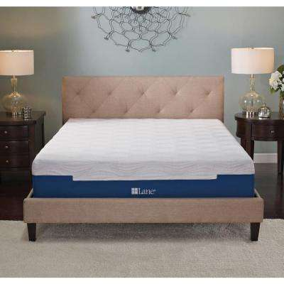 11 in. Split King Gel Memory Foam Mattress