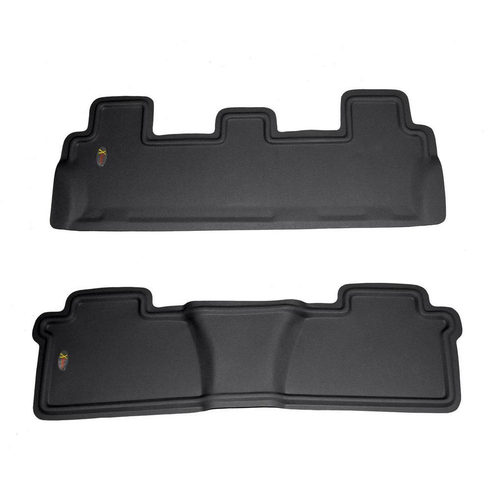 Lund 783074-G Catch-It Carpet Grey Rear Seat Floor Mat Set of 2
