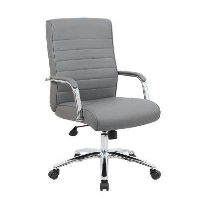 Grey Mid Back Executive Chair