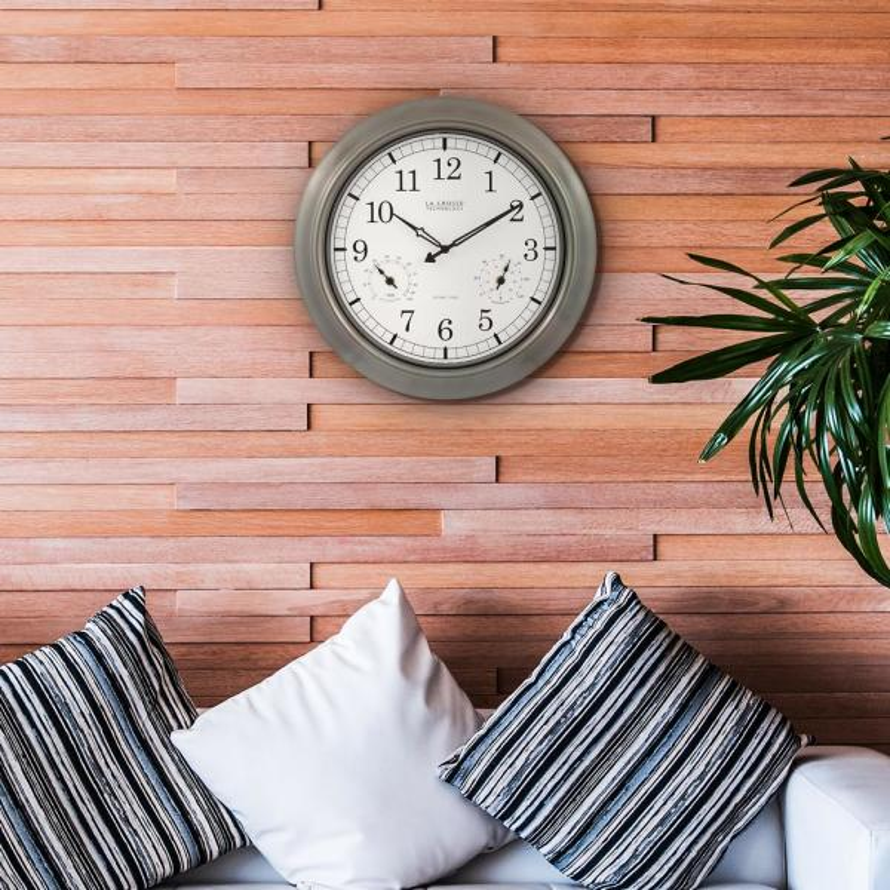 La Crosse Technology 11 In Wwvb Digital Clock With