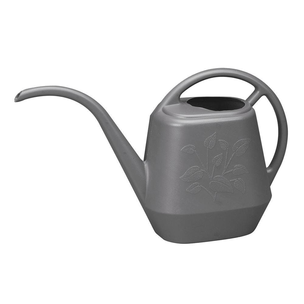 Bloem Aqua Rite 1/2 Gal. Charcoal Watering Can