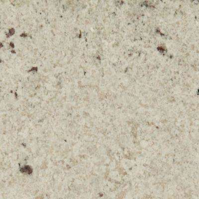 3 in. x 3 in. Granite Countertop Sample in Colonial White