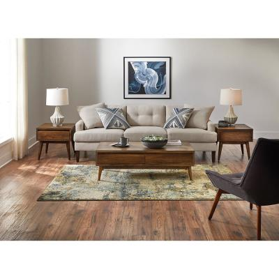 Braxton Multi 5 ft. x 8 ft. Abstract Area Rug