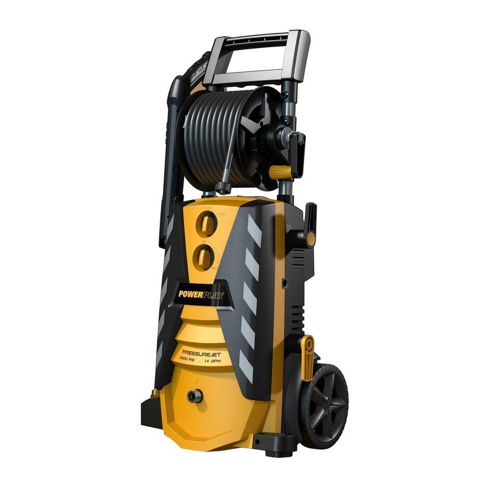 Powerplay Powerplay PressureJet 2000-PSI 1.4-GPM Axial Cam Pump Electric Pressure Washer