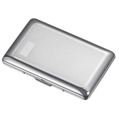 Luke Chrome Plated Scale Stamped Cigarette Case
