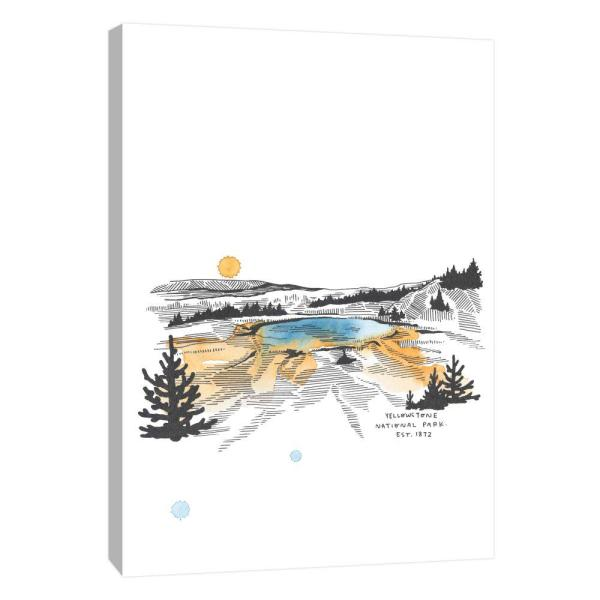 PTM Images 10 in. x 12 in. ''Nation Park Yellowstone''