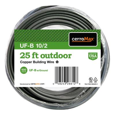 25 ft. 10/2 UF-B Wire