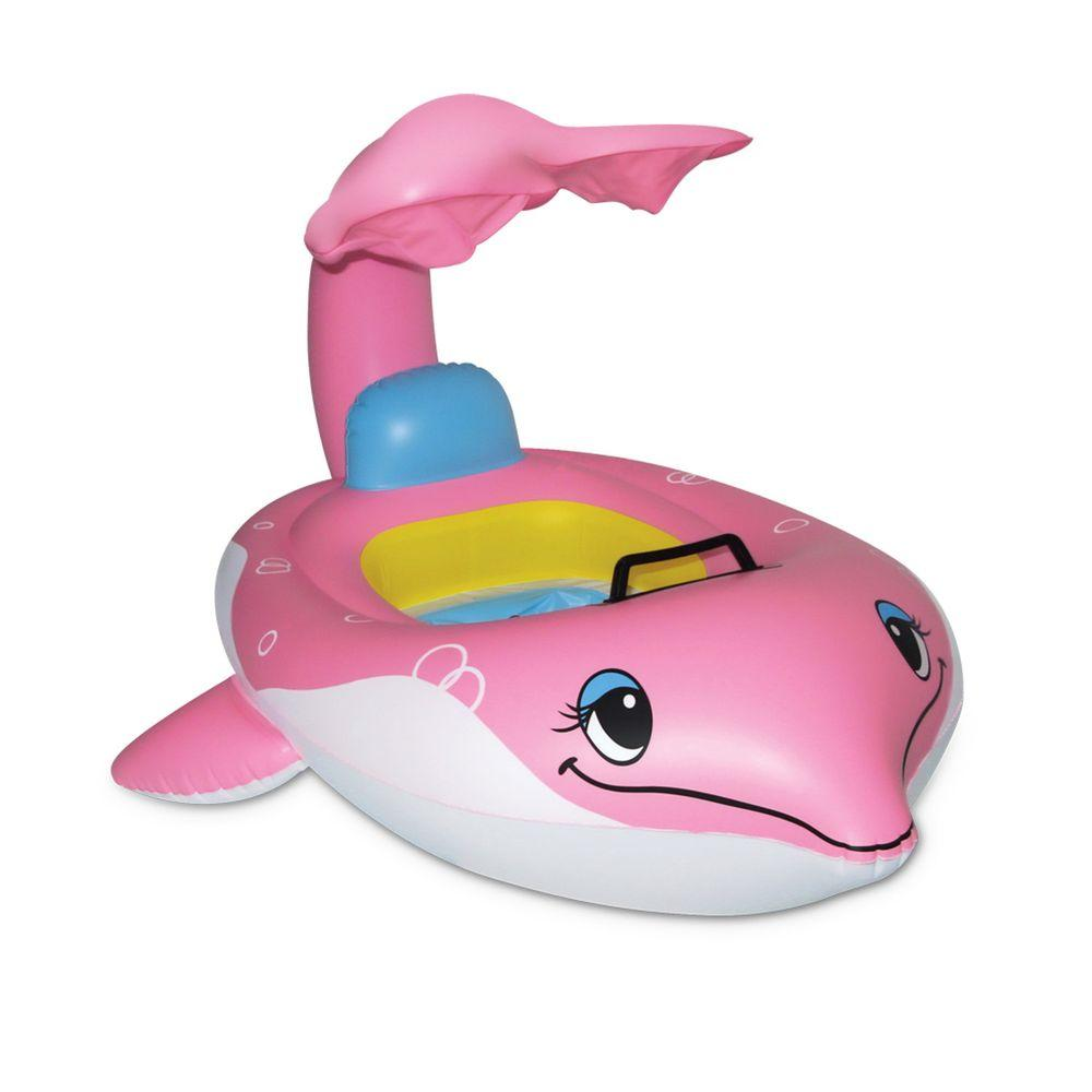 Poolmaster Dolphin Baby Pool Seat with Top