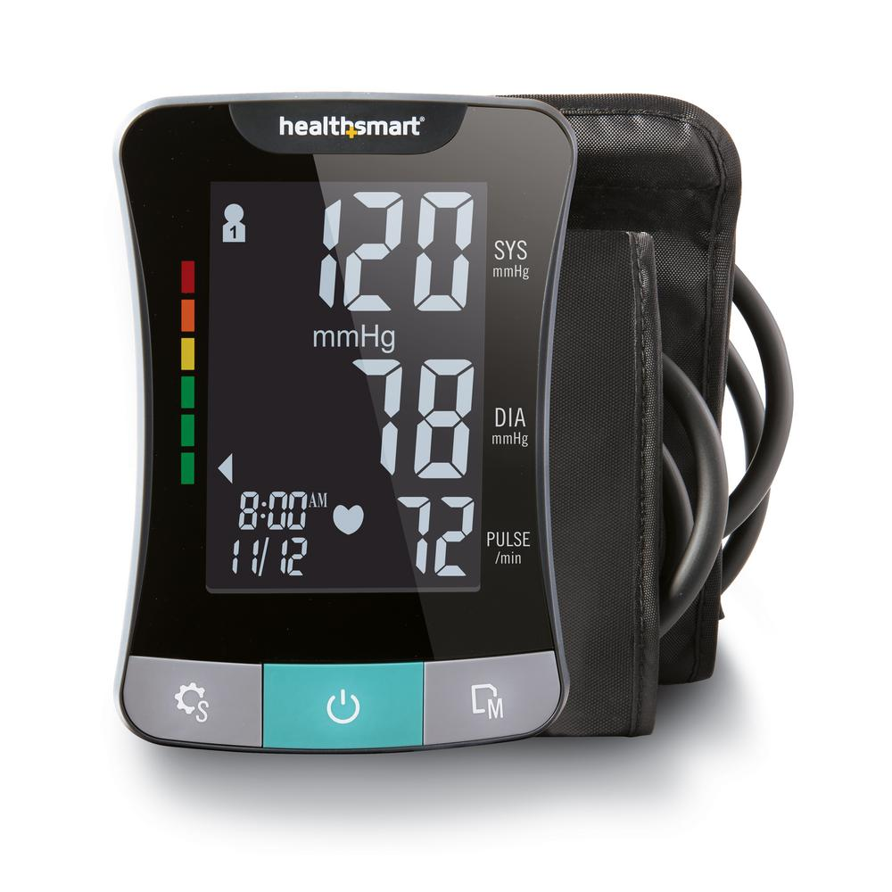 Premium Series Digital Upper Arm Blood Pressure Monitor in Black