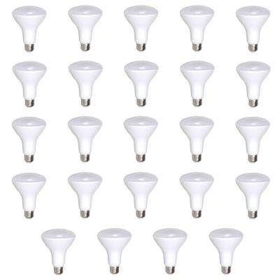 65W Equivalent Soft White 2700K R30 Dimmable 25,000-Hour LED Light Bulb (24-Pack)