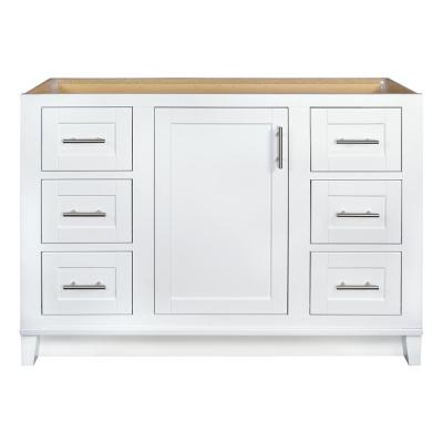 Kinghurst 48 in. W x 21 in. x 33.5 in. H D Bathroom Vanity Cabinet Only in White