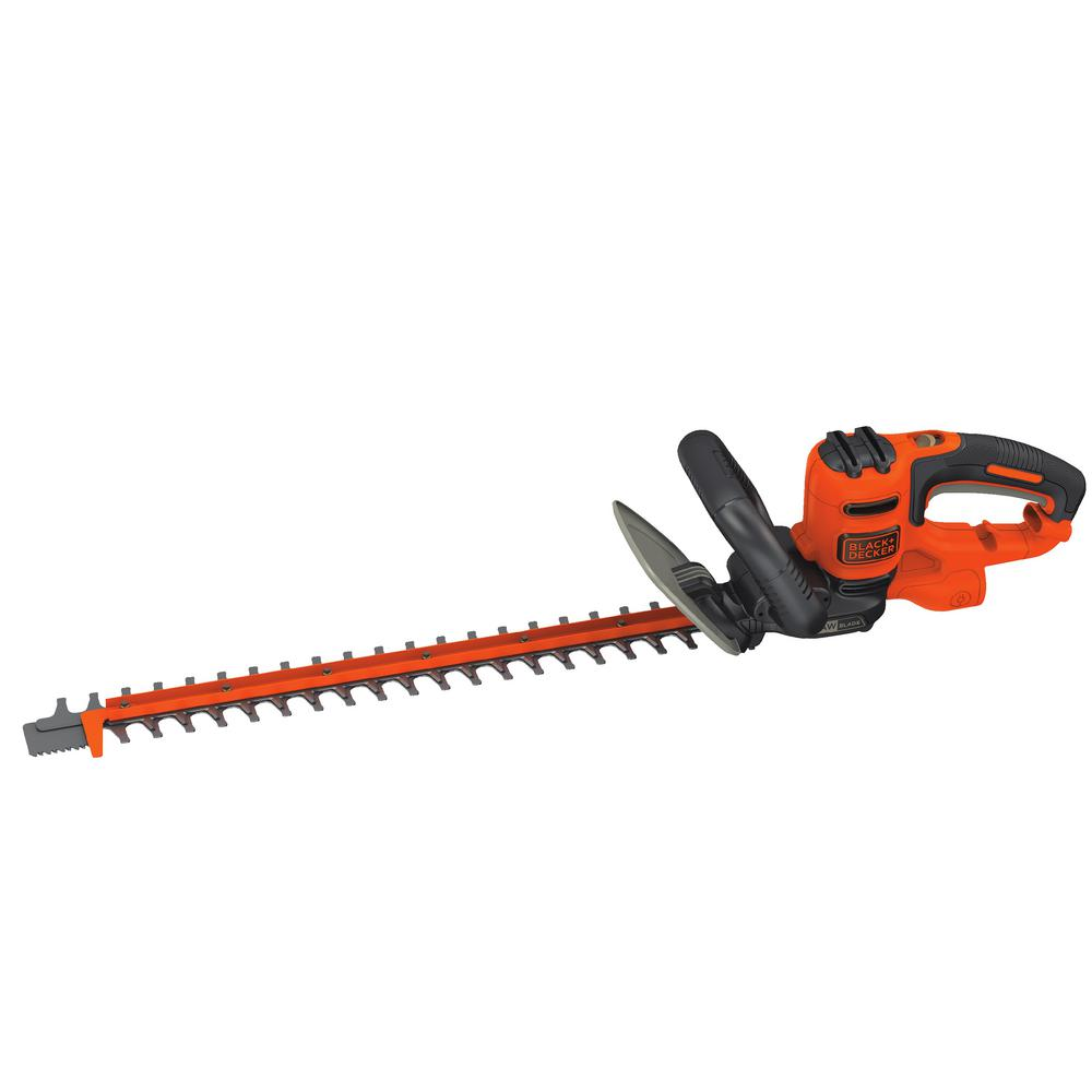 BLACK+DECKER 22 in. SAWBLADE 4 Amp Corded Electric Hedge Trimmer