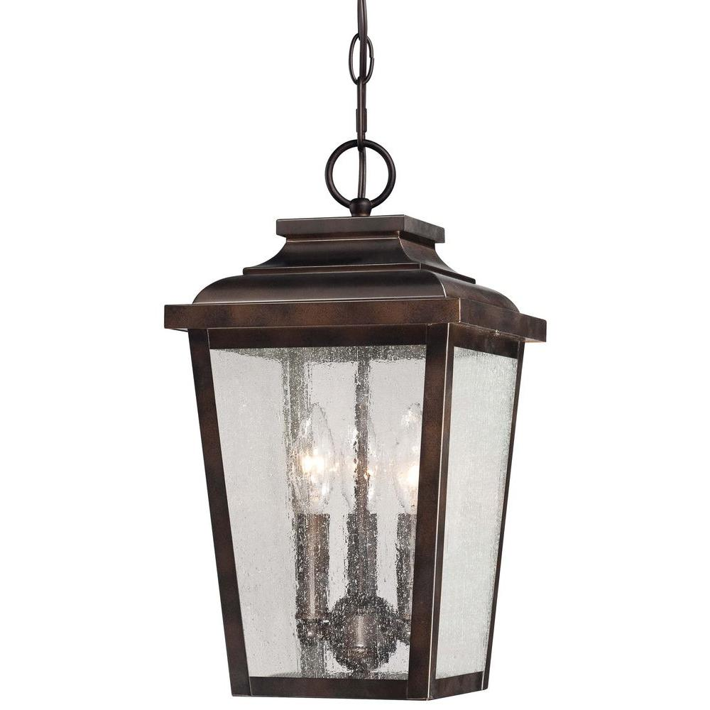 The Great Outdoors By Minka Lavery Irvington Manor 3 Light Chelsea Bronze Outdoor Chain Hung
