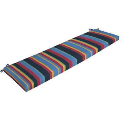 DriWeave Tuscan Stripe Outdoor Bench Cushion