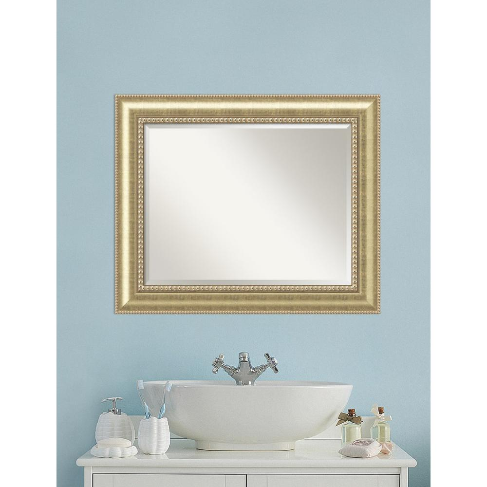 Astoria Champagne Wood 35 in. W x 29 in. H Traditional