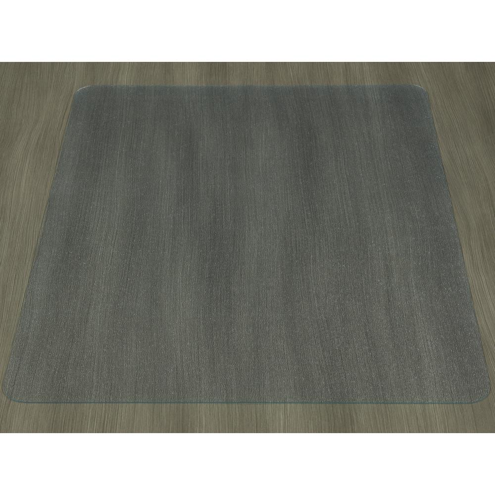 ottomanson hard floor clear 36 in x 48 in vinyl chair mat hfcm