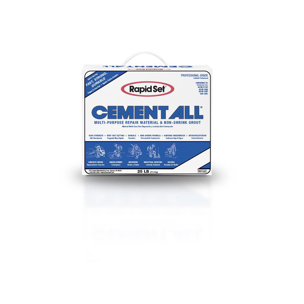 Rapid Set 25 lb. Cement All Multi-Purpose Construction Material