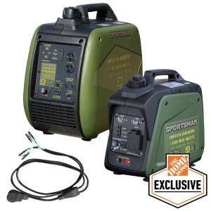 Deals on Sportsman 3000W/2500W Gasoline Inverter Generator w/Parallel Kit