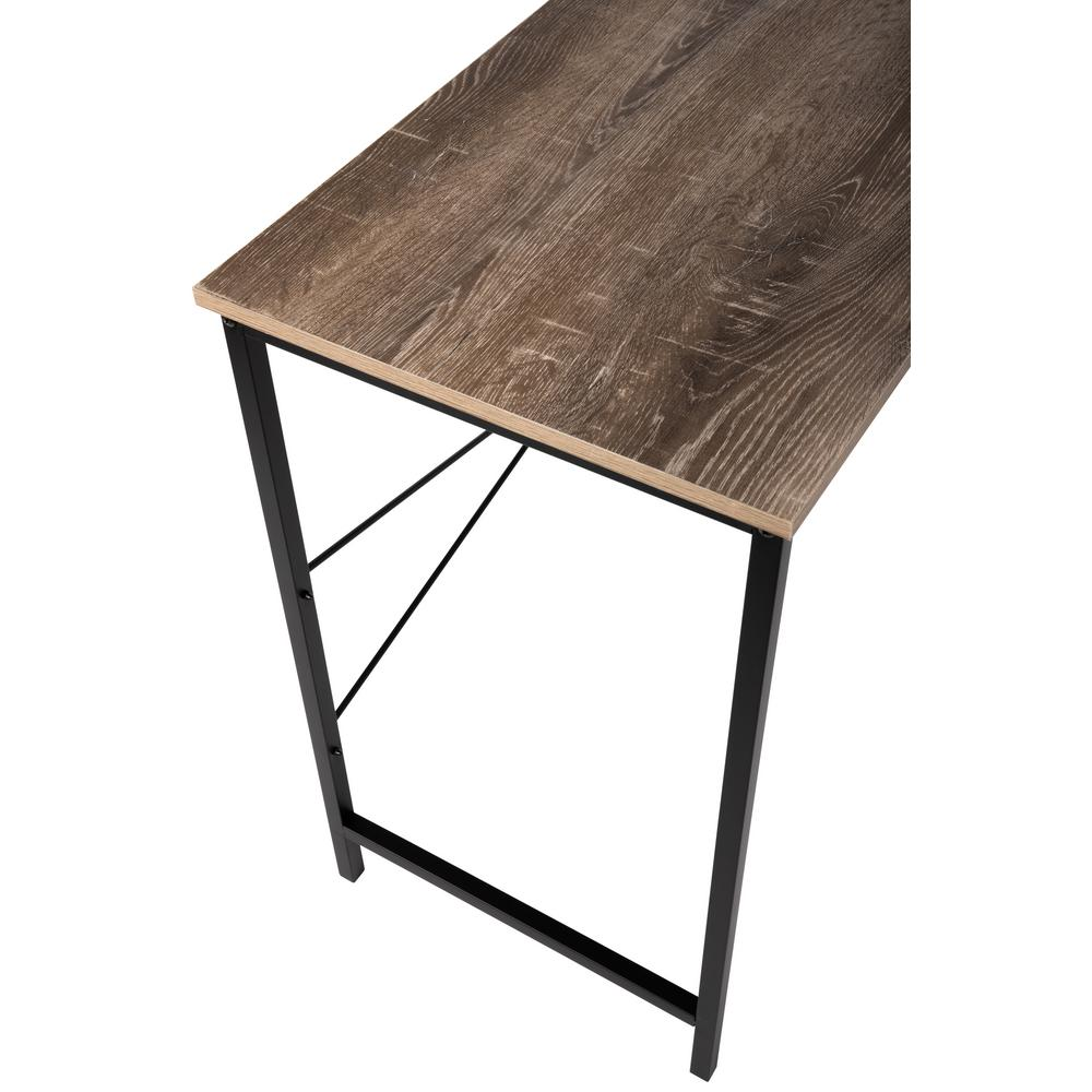 Avalon Tribeca Weathered Wood Studio Desk In Brown 62756   The Home Depot