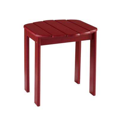 Adirondack Red End Table
