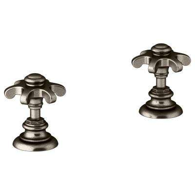 Artifacts 2-Handle Trim Kit in Vibrant Vintage Nickel (Valve Not Included)
