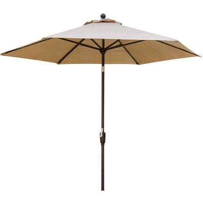 Concord 11 ft. Patio Umbrella in Tan