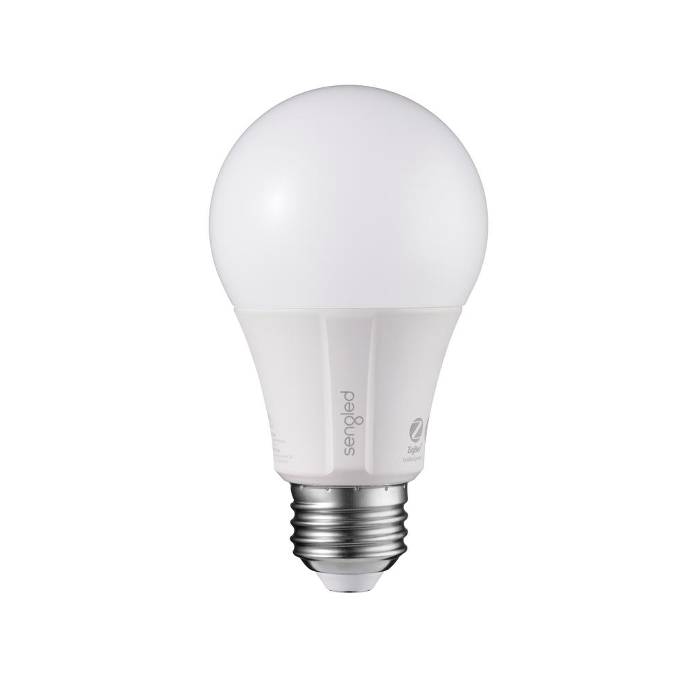 Sengled Element Classic 60W Equivalent Soft White A19 Dimmable LED Light Bulb, White