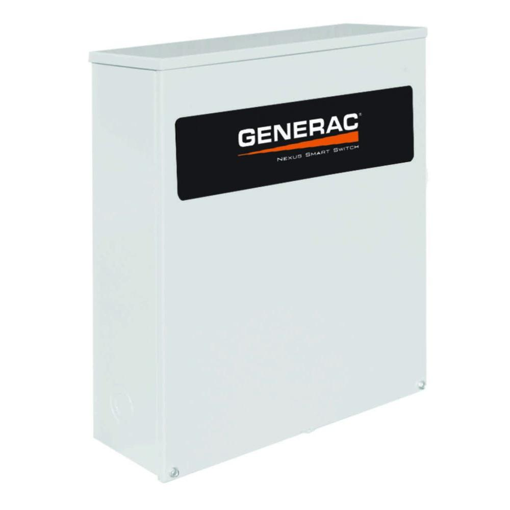 Generac 100 Amp Service Rated 120 240 Single Phase Nema 3r Smart Generator Wiring Diagrams 208v Volt 200 Indoor And Outdoor Automatic Transfer Switch