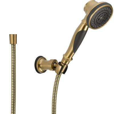 3-Spray Wall-Mount Hand Shower in Champagne Bronze