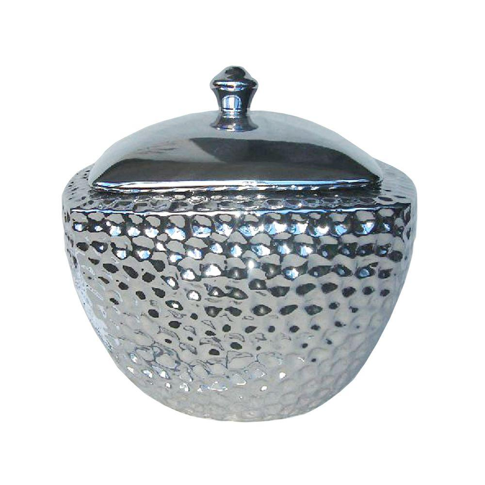 Pacific Decor Fire Pot in Pewter-DISCONTINUED