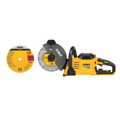 FlexVolt 60-Volt Max Lithium-Ion 9 in. Cordless Brushless Cutoff Saw (Tool-Only)