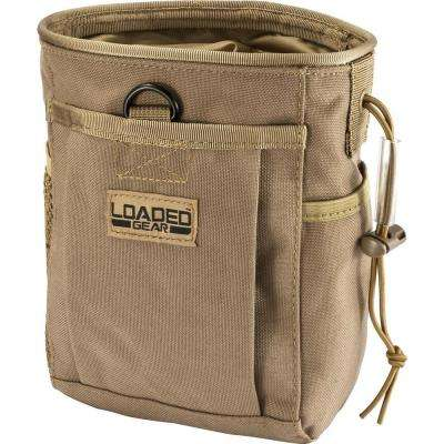 Loaded Gear CX-700 Drawstring Dump Pouch in Flat Dark Earth