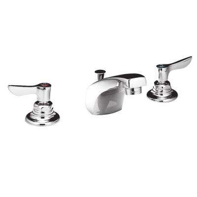Monterrey 8 in. Widespread 2-Handle 0.5 GPM Bathroom Faucet with Conventional Spout in Polished Chrome