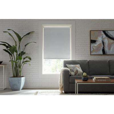Cut-to-Size Cloud Cordless Blackout Roller Shades 72 in. W x 72 in. L