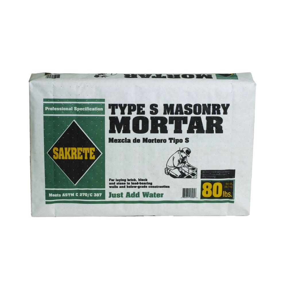 Type S Mason Mortar Mix