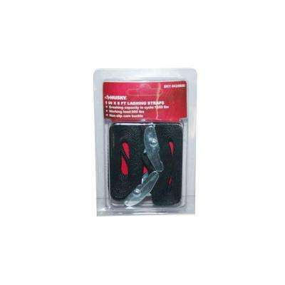 1 in. x 8 ft. Lashing Strap (2-Pack)