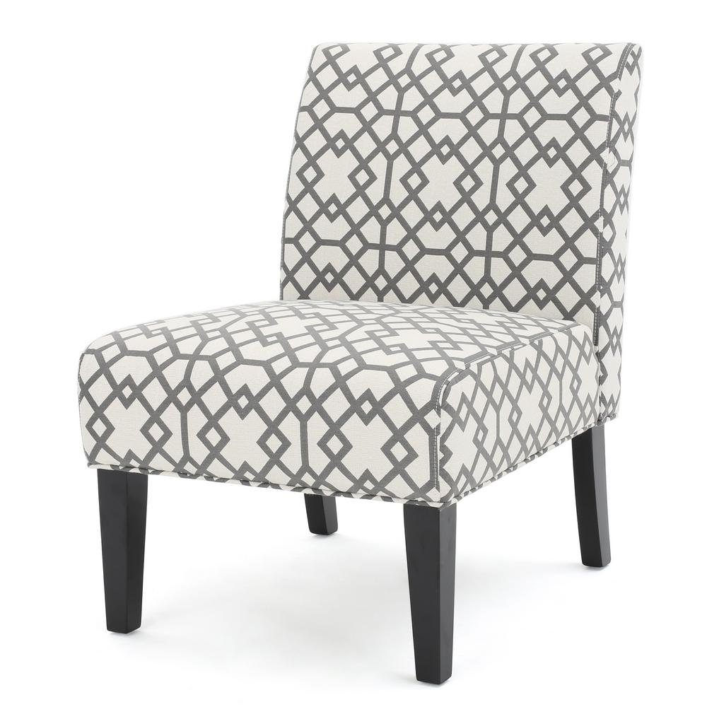 Grey Patterned Accent Chair Best Ideas