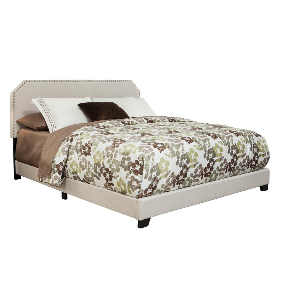Queen Sized Upholstered Bed