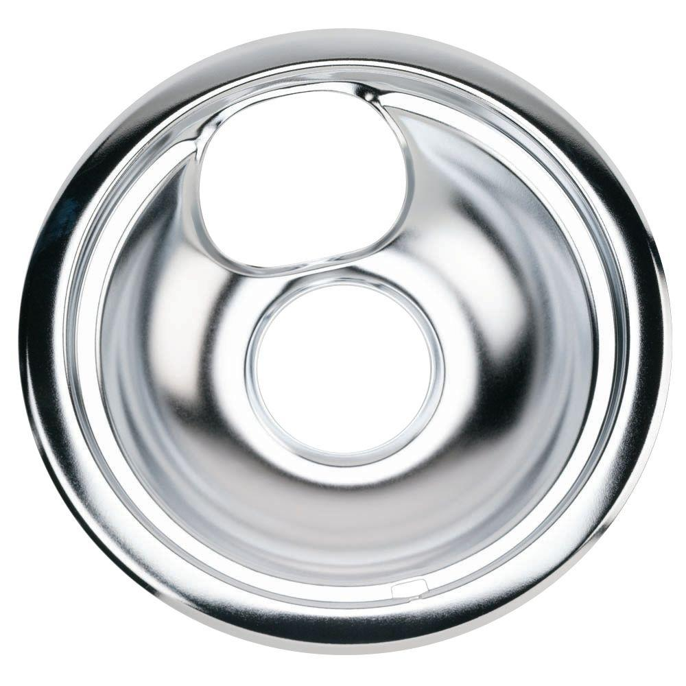 GE 6 in. Chrome Drip Bowl for GE and Hotpoint Electric Ranges