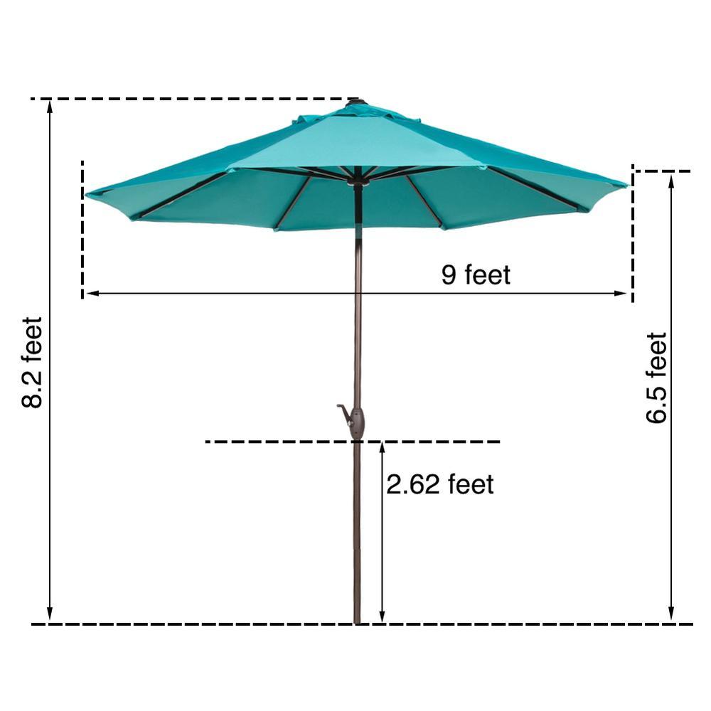 Abba Patio 9 Ft Market Outdoor Table