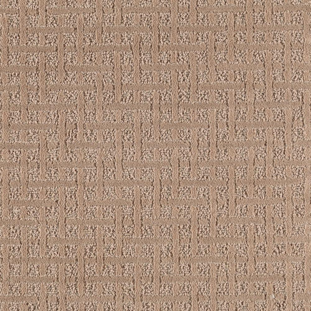 null Boost - Color Maple Syrup Pattern 12 ft. Carpet