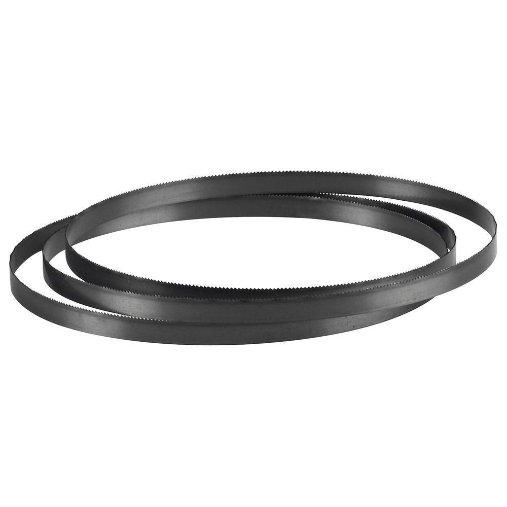 62 inch band saw blade. vermont american 56-1/8 in. x 3/8 18 teeth per inch carbon steel band saw blade for cutting ferrous and non-ferrous metals-31092 - the home depot 62