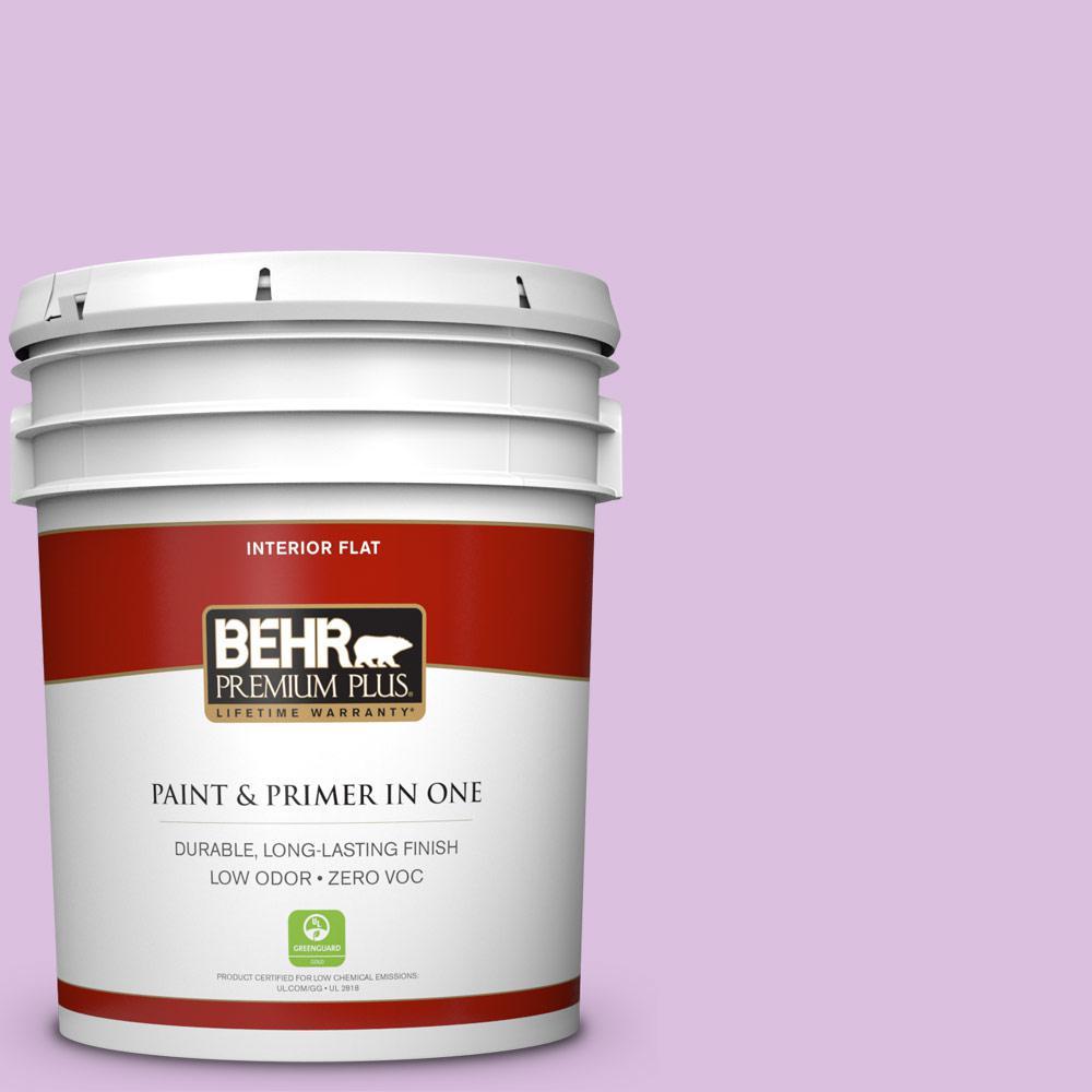 BEHR Premium Plus 5-gal. #P100-3 Epiphany Flat Interior Paint